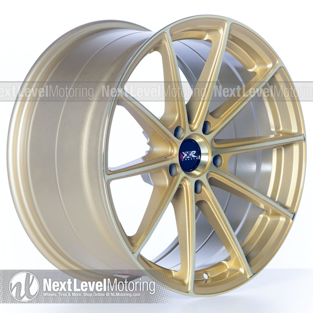 Xxr Wheels 568 18x9 5 5x120 Liquid Gold Rims Et38