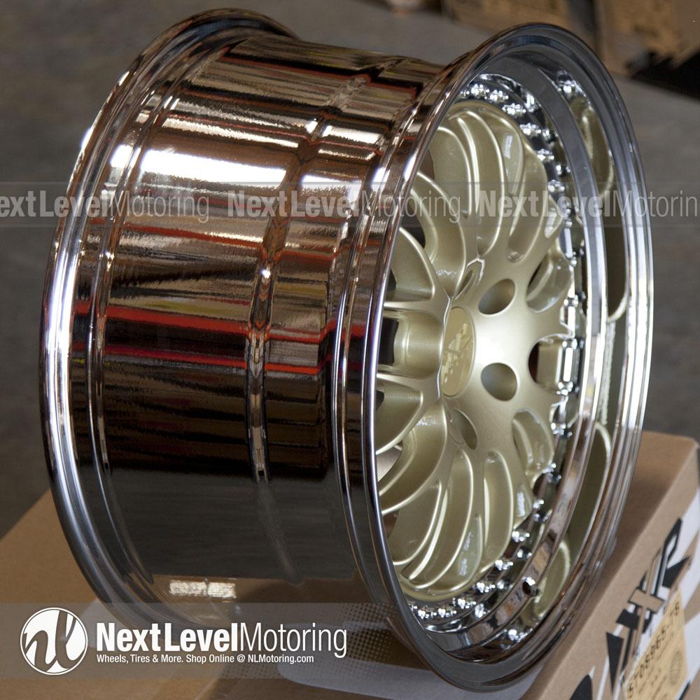 Xxr Wheels 570 18x9 5 5x120 Hyper Gold Rims Et35
