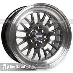 XXR Wheels: 531 15x8 4x100|4x114 3 Chromium Black Rims et20
